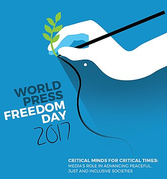 World Press Freedom Day - World Press Freedom Day 2017 Poster