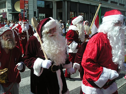 World Santa Claus Congress at Kongens Nytorv 02