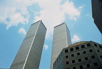 English: World Trade Centre, Twin Towers, New ...