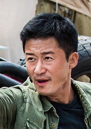 Wu Jing (actor) - Wu Jing, on the set of Wolf Warrior 2.