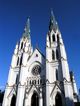 Image illustrative de l'article Cathédrale Saint-Jean-Baptiste de Savannah