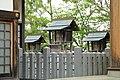 Yatsuo Hachiman-sha Shrine Honden, Yatsumatsu Midori Ward Nagoya 2020.jpg