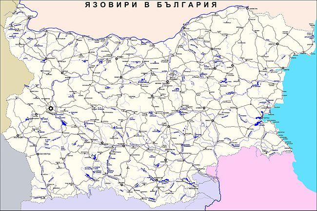 Spisk Na Yazovirite V Blgariya Uikipediya