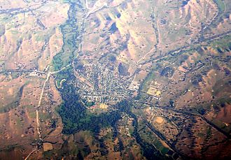 Yea, Victoria - Aerial photo of Yea