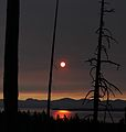 Yellowstone Lake on a Smoky Sunrise.JPG