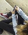 Young Girl Vapig Ecigarette.jpg