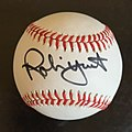 Yount signed ball.jpg