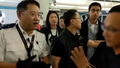 Yuen Long Station Concourse police and passenger argue 20190721.png