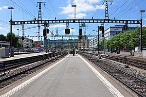 Zürich Oerlikon railway station - Image: Zürich Oerlikon Bahnhof IMG 4800