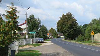 Zakrocz Village in Kuyavian-Pomeranian, Poland