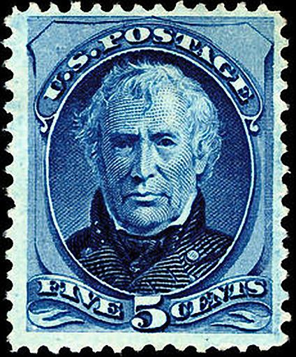 Zachary Taylor 1875 Issue-5c