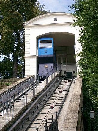 Zagreb Funicular - The funicular