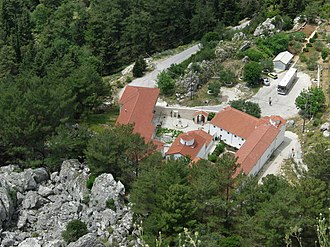 Zalongo - Monastery of Zalongo.