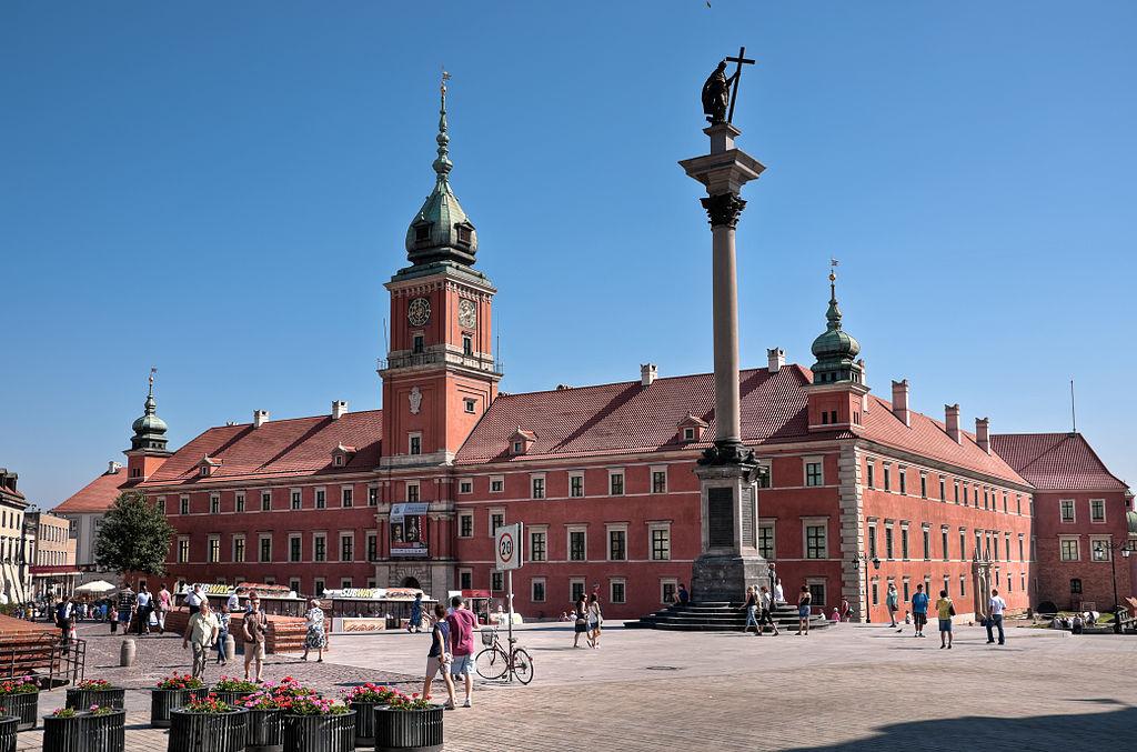 Il Castello Reale di Varsavia - Foto di Mkos