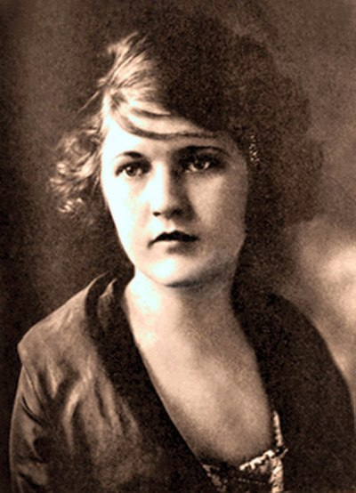 Picture of an author: Zelda Fitzgerald