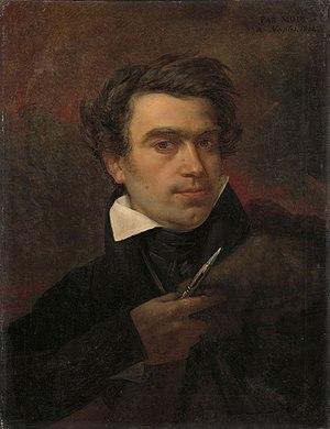 Pieter van Hanselaere - Pieter Van Hanselaere, self-portrait, 1824