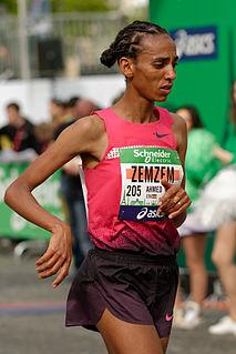 Zemzem Ahmed Ethiopian runner