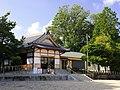 Zengo Shinmei-sha shrine haiden, Zengo-cho Toyoake 2018.jpg