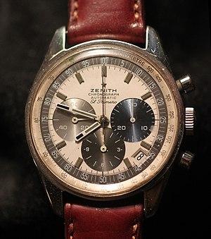 Zenith (watchmaker) - Image: Zenith El Primero