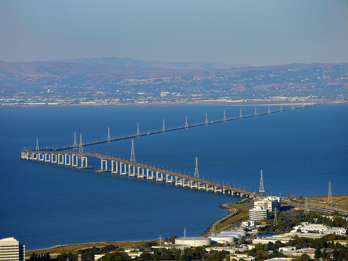 San Mateo–Hayward Bridge - Wikipedia