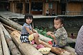 Zhaoxing village children (2010).jpg