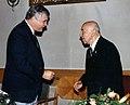 Zygmunt Ewy (p) i Krzysztof Cena 1993.jpg