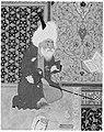 """Laila and Majnun in School"", Folio 129 from a Khamsa (Quintet) of Nizami MET 187670.jpg"