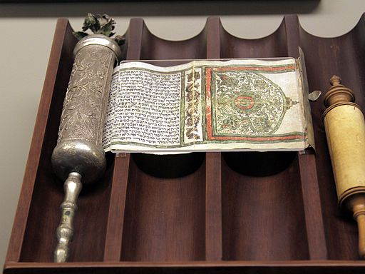 """Megillah"", esther scroll, cast and engraved silver and silver gilt case, (8605734851)"