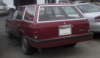 Plymouth Reliant - 1986–1988 Dodge Aries wagon
