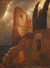 Ruine près de la mer