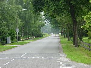 't Haantje, Drenthe - Road in 't Haantje