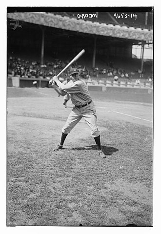 Bob Groom - Groom as a member of the Cleveland Indians in 1918.