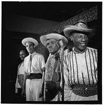 Calypsonian - Image: (Portrait of Calypso, between 1938 and 1948) (LOC) (5189343849)
