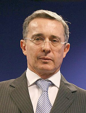 History of FARC - Álvaro Uribe, president of Colombia from 2002–2010