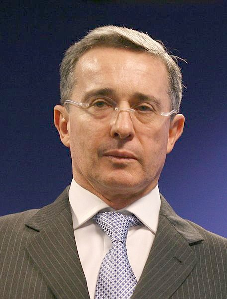 Álvaro Uribe (cropped)