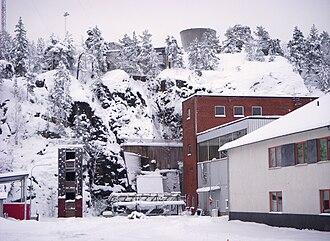 Ågesta Nuclear Plant - Image: Ågestaverket 2009a
