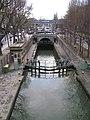 Écluses de la Villette depuis l'écluse de la Villette, 2008-12-06 01.jpg