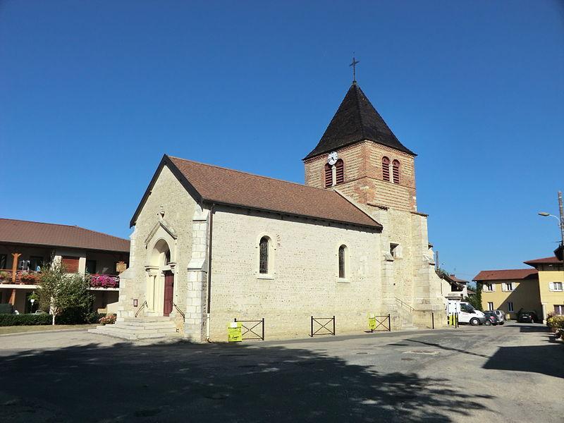 Église Saint-Marcel de Saint-Marcel (Ain).