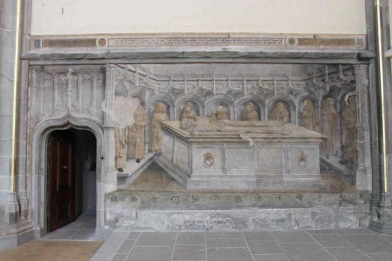 Fichier:Église Saint-Maurice d'Annecy-Peinture funéraire (milieu XVe siècle) IMG 7954.jpg