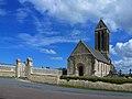 Église Saint-Romain d'Étréham. Vue ouest.jpg