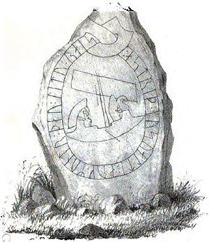 Östergötland Runic Inscription 224 - Image: Ög 224 A, Stratomta