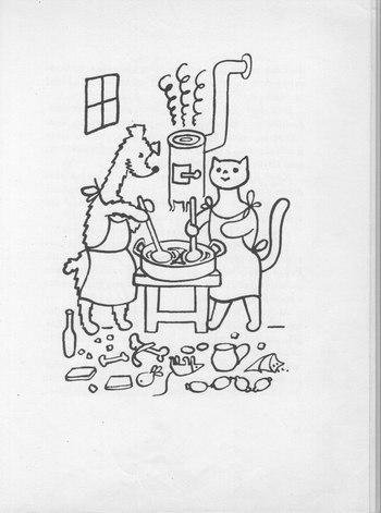 Jíst kočička pov