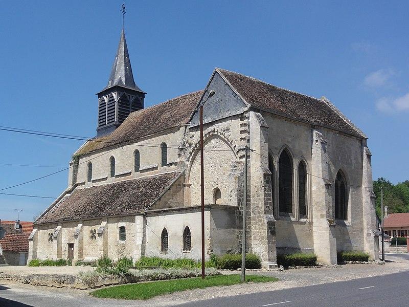 Œuilly (Aisne) Église