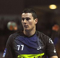 Žarko Marković 2 DKB Handball Bundesliga HSG Wetzlar vs HSV Hamburg 2014-02 08.jpg
