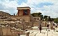 Στο μινωϊκό ανάκτορο της Κνωσού - panoramio.jpg