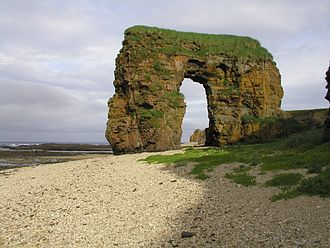 Georg Wilhelm Steller - Steller's Arch on Bering Island