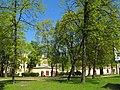 ВМА, сад на углу Ак. Лебедева и Клинической.jpg