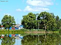 Возера Мох у маёй вёсцы ... Mokh Lake in my village - panoramio.jpg