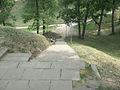 Латвия (Latvija), Цесис район (Cēsu rajons), Цесис (Cēsis), Центр (Centrs), Городской парк (Pils parks), возле православной церкви, 14-00 08.07.2006 - panoramio.jpg