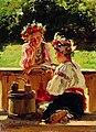 Маковский Девушки-освещенные-солнцем 1901.jpg